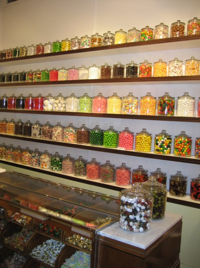 Candy Display Container Case