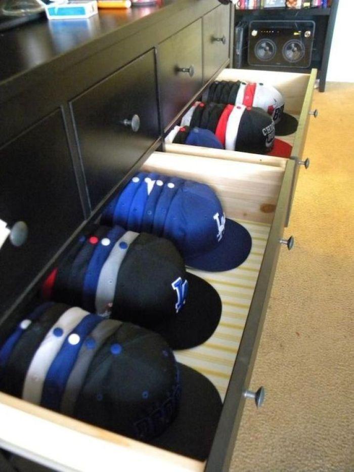 Closet Hat Rack