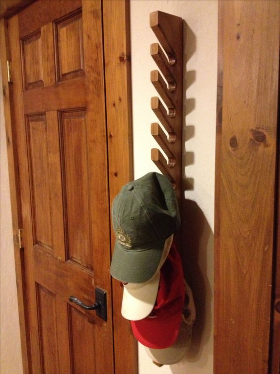 cost friendly and easy hat rack ideas