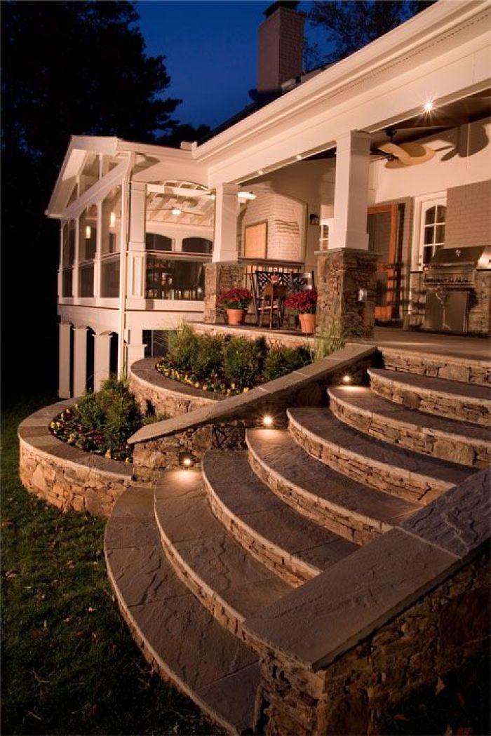 Exterior Stairs LightsIdeas