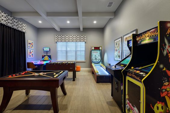 The best classy recreation room ideas for a stress relief for Rec room ideas for small rooms