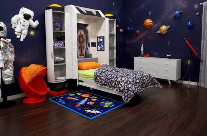 20 Space Themed Badroom Ideas For Your Home Inspirations