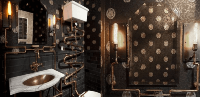 Steampunk Bathrooms