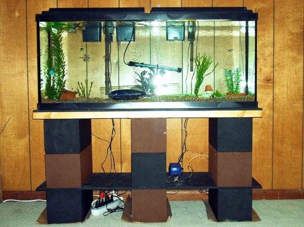 aquarium furniture