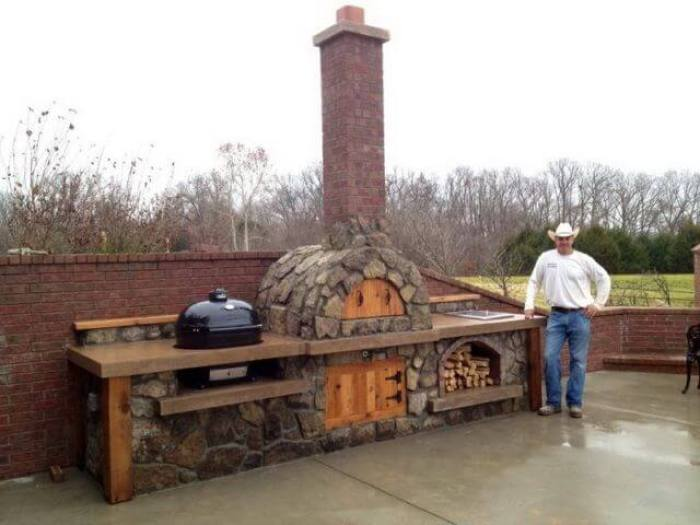 Cool Outdoor Kitchen Design