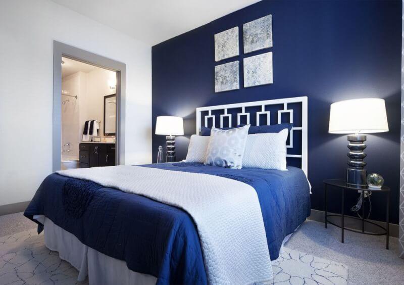 Navy Blue Bedroom Ideas Light Blue Dark Blue Bedrooms Reverb
