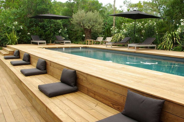 Above Ground Pool with Decks