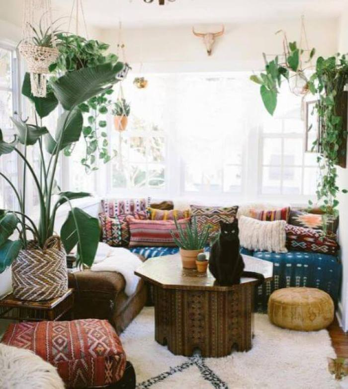 Add Some Greenery to Your Living Room