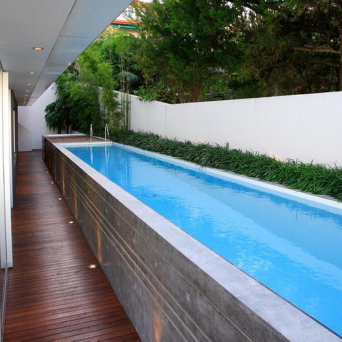 Concrete Above Ground Pools
