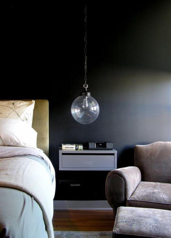 bedroom lighting for low ceilings