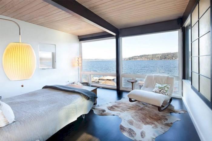 mid century modern bedroom design