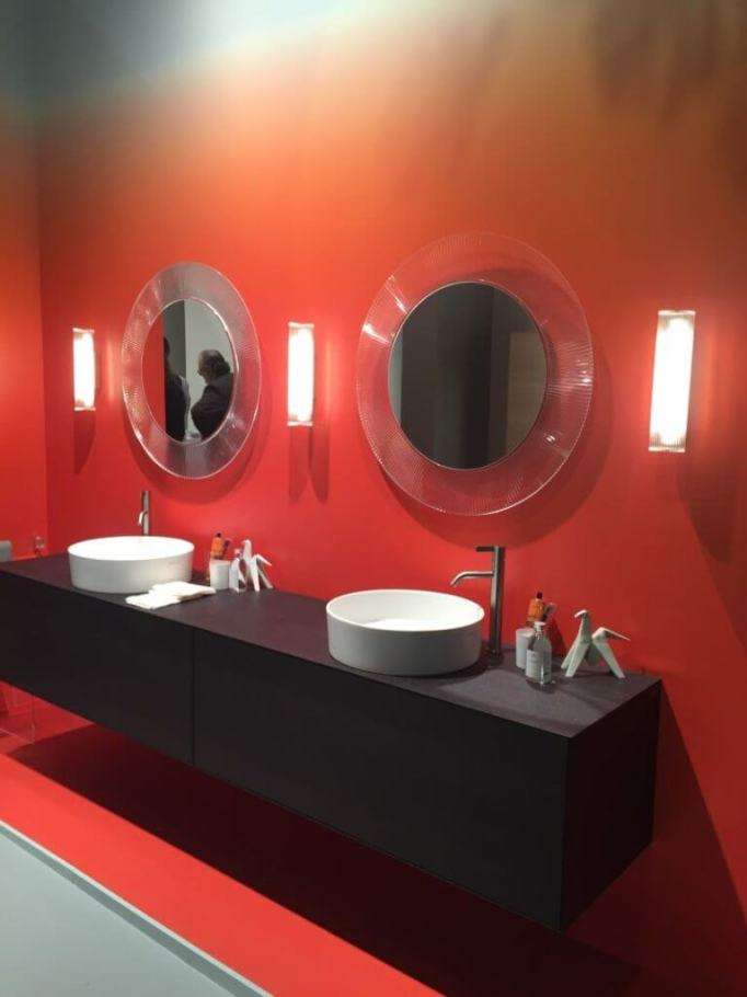 luxury double sink bathroom vanities