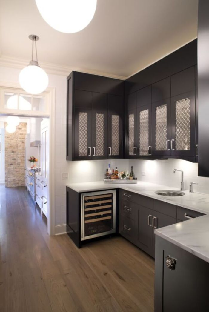 cheap black kitchen cabinets