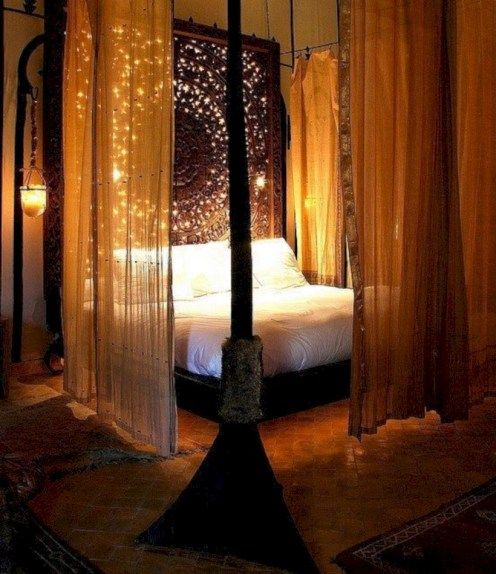 canopy bedroom sets & 15 Canopy Bed Curtains That Might Suit Your Fancy - Reverb