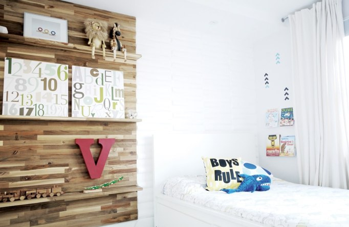 rustic boys bedroom