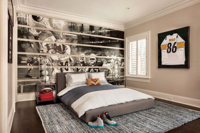 bedroom background wallpaper design
