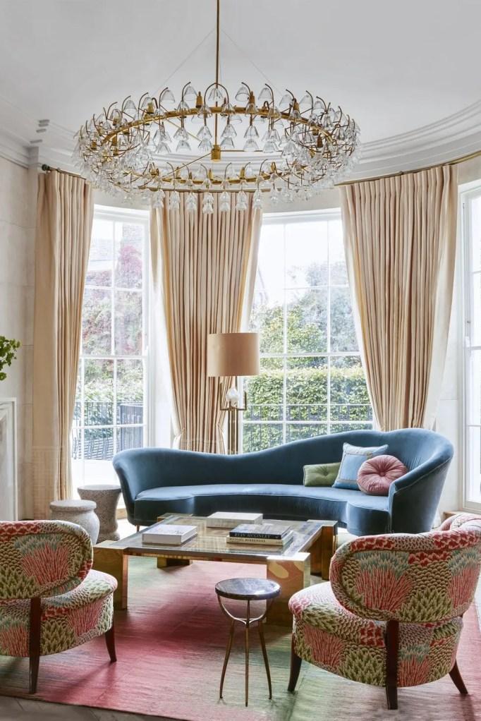 17 Dazzling Living Room Curtain Ideas - Reverb