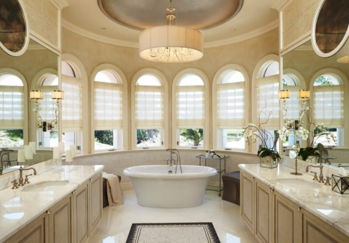 marble bathroom modern