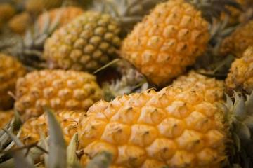Les ananas de la Réunion