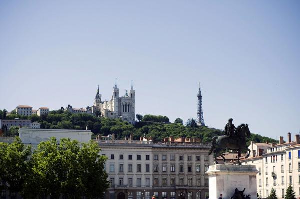 La Basilique de Fourvière de Lyon