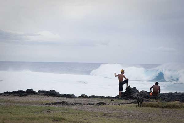 Spectacle des vagues