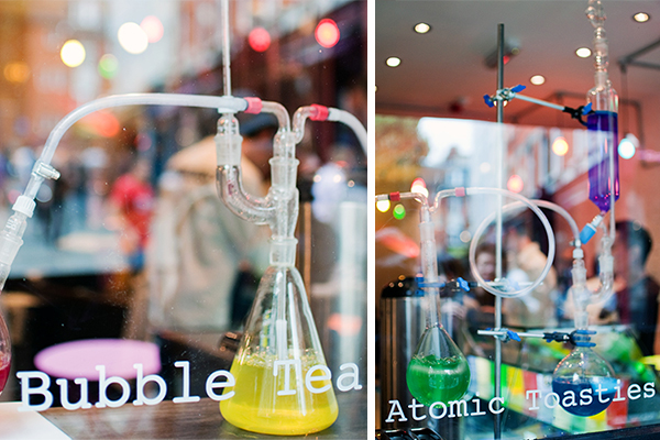 Bubbleology Londres bubble tea