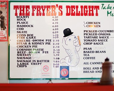 Fish & chips londres the fryer's delight