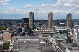 St Paul's Cathedral depuis la Galerie de Pierre