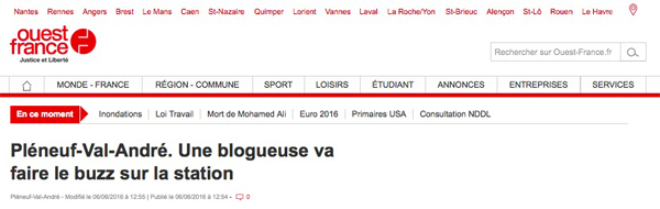 Ouest-France Juin 2016