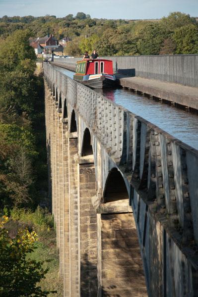 Hauteur de l'Aqueduc de Pontcysyllte