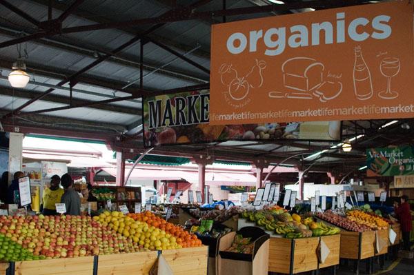 Organic market melbourne