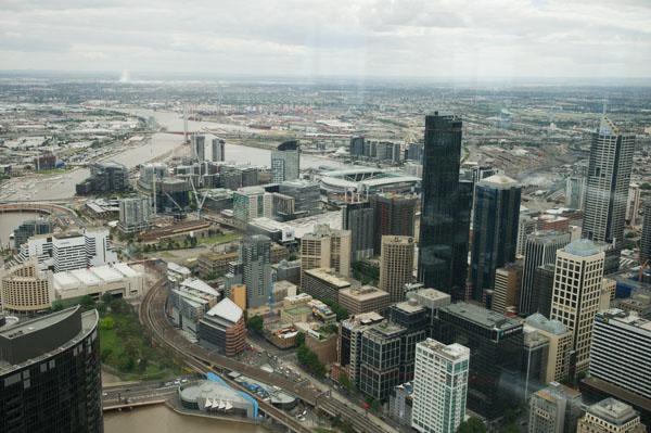 Tour Eureka skydeck panorama Melbourne