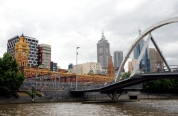 Yarra Pedestrian Bridge Melbourne