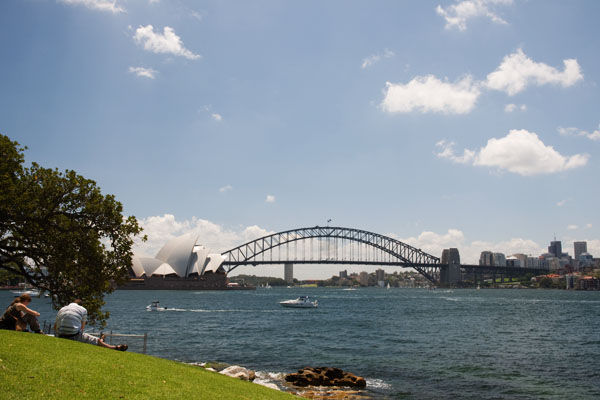 Point de vue sur sydney