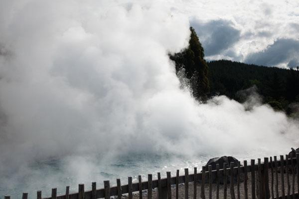 Région thermal et géothermique nouvelle-zélande