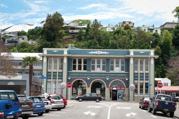 Architecture Art Déco Napier Nouvelle Zélande