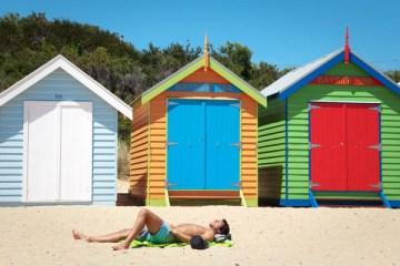 Les maisons colorées de Brighton Beach à Melbourne