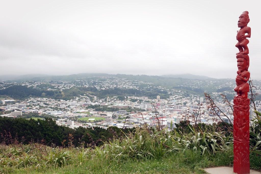 Vue panoramique depuis Mont Victoria, Wellington