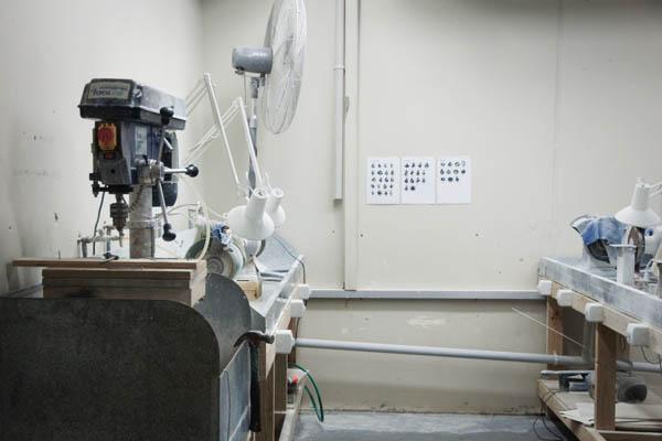 Atelier de pierre précieuse à Hokitika