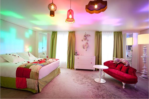 Suite Alice au Pays des Merveilles // © Hotel Seven