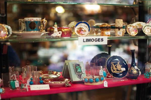 Porcelaine de Limoges en Tasmanie