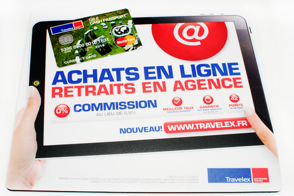Carte Cash Passport de Travelex
