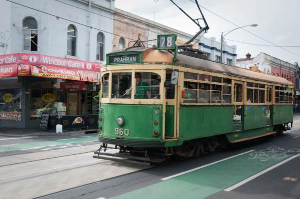 Tram à Melbourne