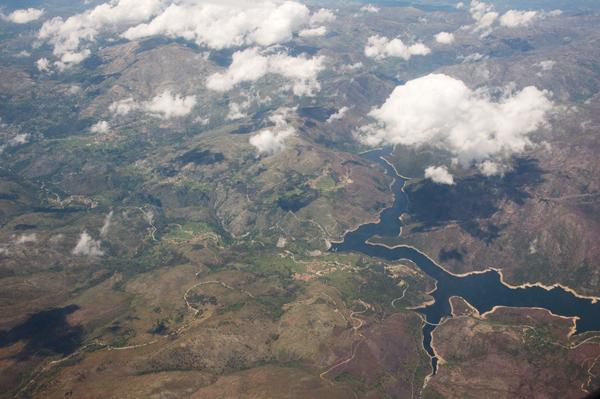Portugal vue d'avion