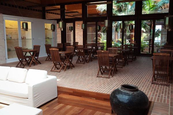Salon d'attente du Spa de l'Hôtel Porto Santo