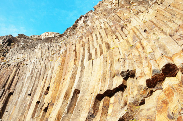 Résultat de l'activité volcanique de Porto Santo