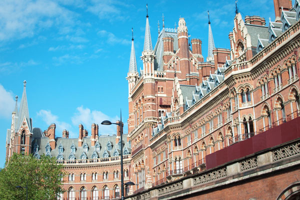St Pancras Station Londres