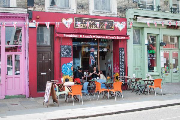 cafés de Portobello Road