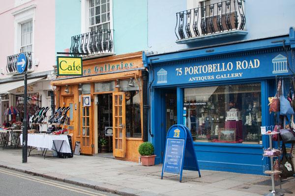 Boutiques de Portobello Road