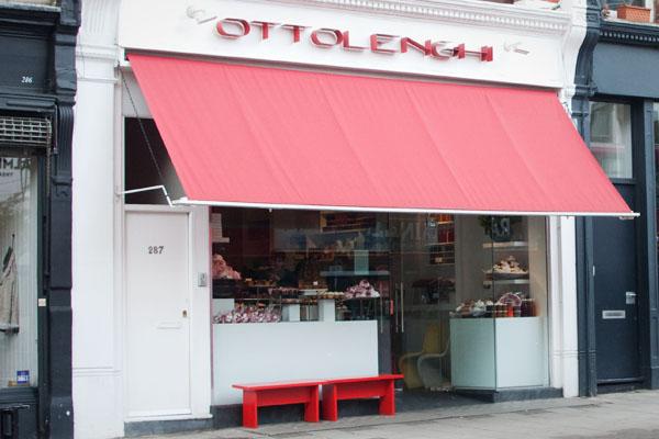 Ottolengh pâtisserie à Londres